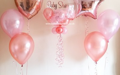 Personalised bubble balloons and bouquets