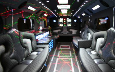Party bus seating