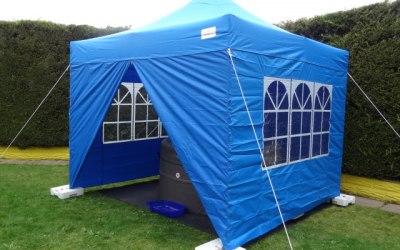 Fully waterproof Blue 3m x 3m Gazebo