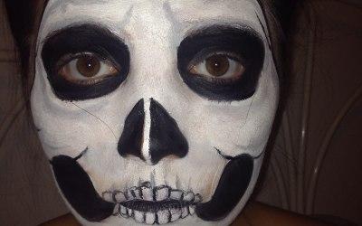 Skull facepaint