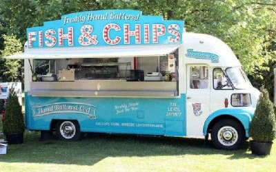 Fish and Chip Van Catering UK 1