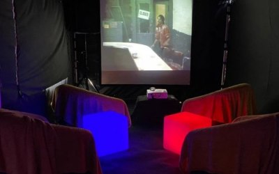 Blackout 6m x 3m indoor cinema package.