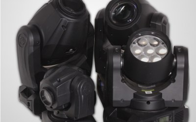 Moving Heads - LED Lighting Fixtures