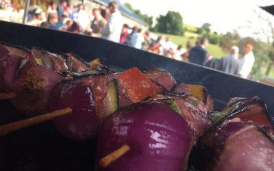 The Vegetarian Kebabs From One Of Our BBQ's