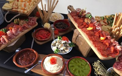 Example 1 Of Our Antipasti Board From The Wedding Menu