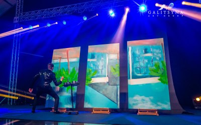 Speed Painting Corporate Event
