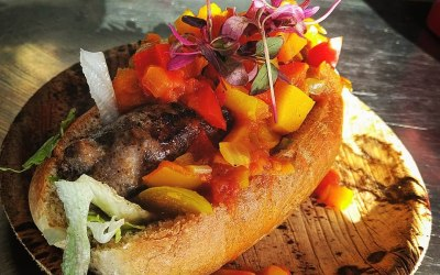 South African Boerewors with Butternut Chakalaka