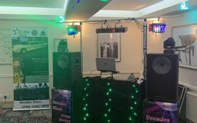 One of our disco setups