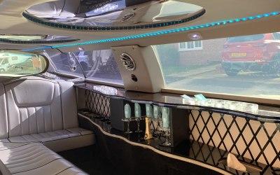 8 seater Limousine interior