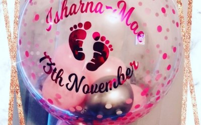 Personalised Balloon Bubbles