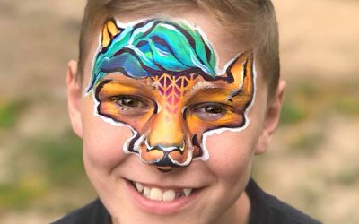 An Awesome Face Painting by Ulianka 8