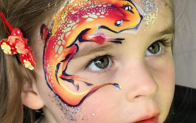 An Awesome Face Painting by Ulianka 3