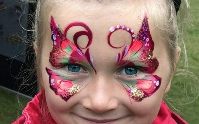 An Awesome Face Painting by Ulianka 2