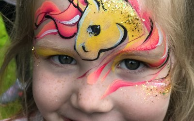 An Awesome Face Painting by Ulianka 4