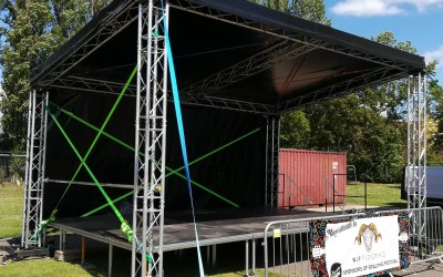 6x4 outdoor stage linconshire