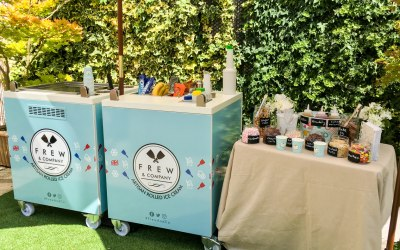 Our current ice cream stand will bring excitement to your event