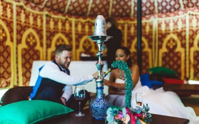 Our shisha lounges are always popular.