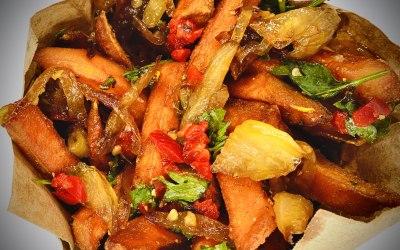 Devilled Sweet-pot Fries