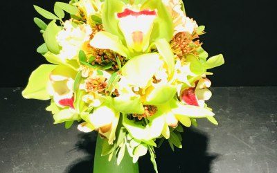 Flowers and Font 1