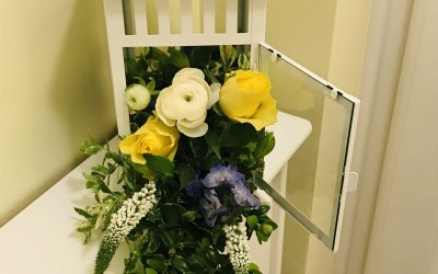 Flowers and Font 2