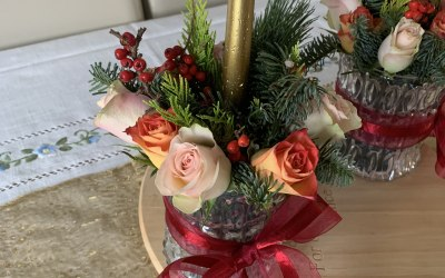 Flowers and Font 3