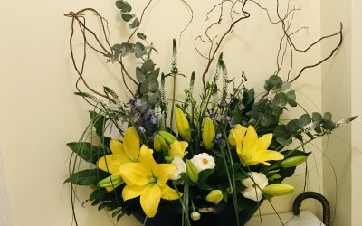 Flowers and Font 6