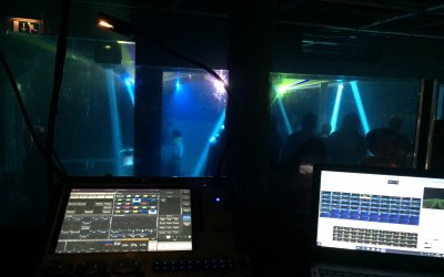 Avolites & Pangoin Lighting/Laser Show