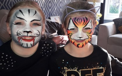 Cute creations face painting 5
