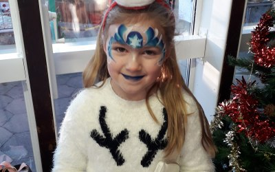 Cute creations face painting 3