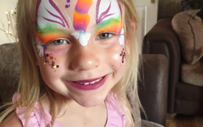 Cute creations face painting 2