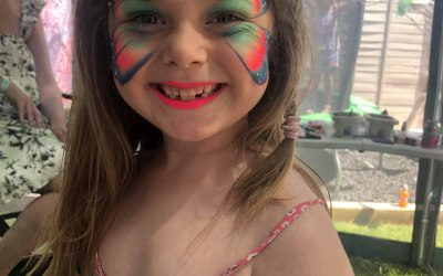 Cute creations face painting 1