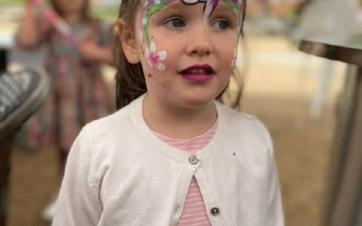 Cute creations face painting 7