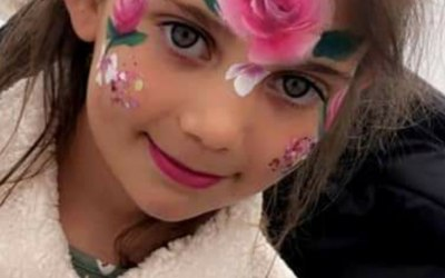 Cute creations face painting 6