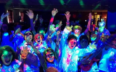 Teenage UV Glow Party