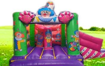 Clown Castle with Slide
