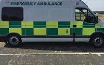 FOR HIRE: Ambulance