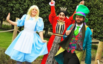Alice in Wonderland and family entertainment