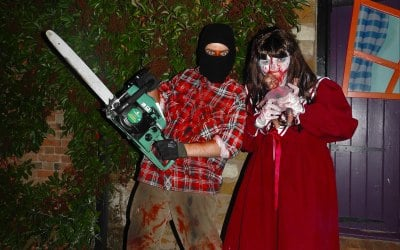 Scare performers and Halloween entertainment