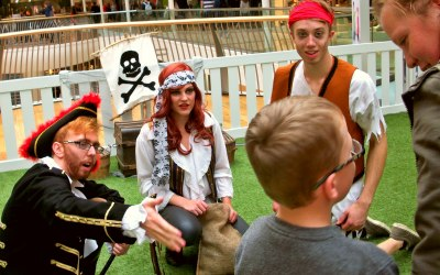 Learn to be a Pirate and interactive family shows