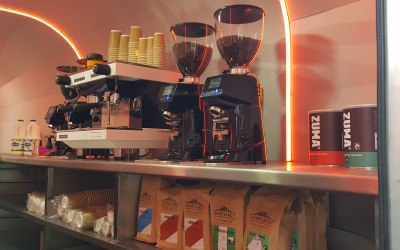 4 different coffees available