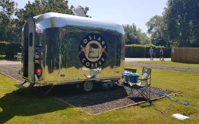 Oslar Coffee goes Camping!