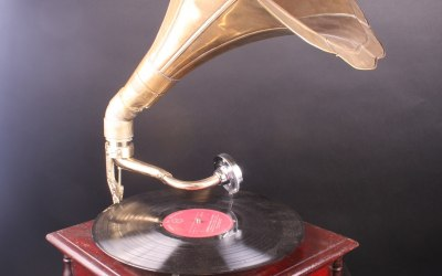 Gramophone for hire