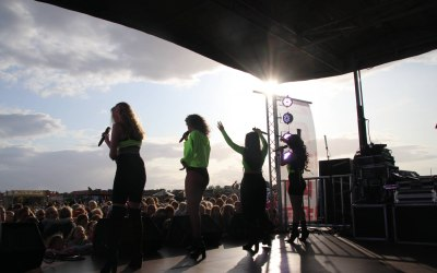 Stage photography for Funtopia Festival