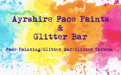 Ayrshire Face Paints & Glitter Bar 1
