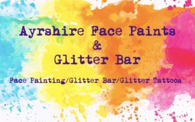 Ayrshire Face Paints & Glitter Bar 1