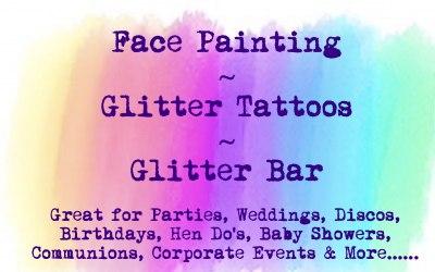 Ayrshire Face Paints & Glitter Bar 2