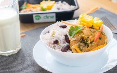 MyDine Fish Escovitch with Jamaican Rice & Peas