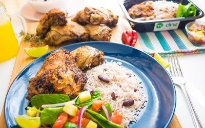 MyDine Jamaican Jerk Chicken, Rice & Peas