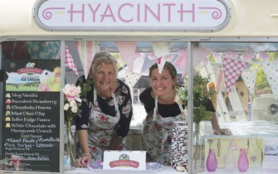Hyacinth Ice Cream