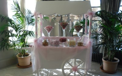 hire wedding sweet cart candy cart
